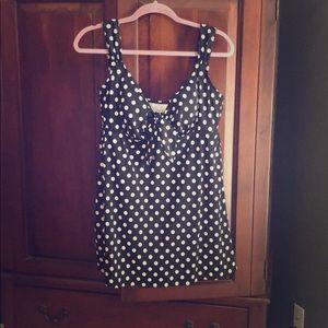 One piece polka dot swimsuit
